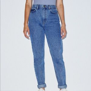 NWT american apparel high waisted jeans